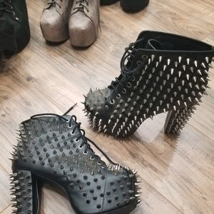 Jeffrey Campbell all over spiked Litas